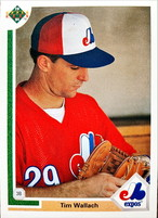 MLBカード 91UPPERDECK Tim Wallach #235 EXPOS