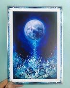 Moon Charm Card