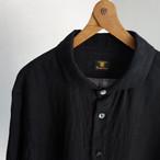 french widespread belgium-linen shirt / belgium-black