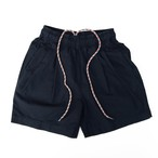 LINEN 2TAC BAGGIES SHORTS / NAVY