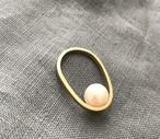 pearl ring (PeR-3) brass 15号