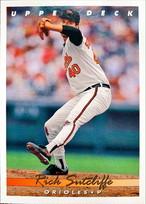 MLBカード 93UPPERDECK Rick Sutcliffe #080 ORIOLES