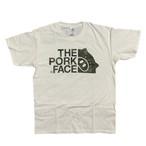 THE PORK FACE 迷彩ロゴTシャツ (S〜XL)
