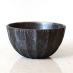 Roughness Black Plants Pot(No,05)※LARGE