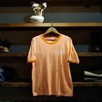 〜1970s Mayo Spruce Ringer Tee / 〜70年代 メイヨー スプルース トリム Tシャツ オレンジ杢