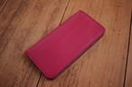 【即納品】手帳型 iphone7,8ケース  fuchsia(濃いピンク)× rose(ピンク)