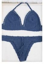 ◆Mon ange Louise◆ 予約受付中!CROCHET BIKINI(blue)