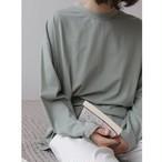 【即納】Long sleeve T-shirt | ロングスリーブTシャツ | 三色