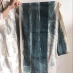 Mula:working cloth セレクトファブリック 「プリント作業台の布」 Water