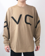 RVCA メンズ オーバーサイズ フィット ロンT