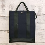 canvas backpack(navy color)【naomi model】
