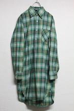 80's チェックグランパシャツ
