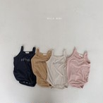【予約販売】better body-suit【baby】〈bella bambina〉