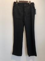 LINEN CASUAL PANTS (BLACK) / LOST CONTROL