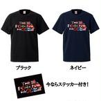 【先行予約】THE PORK FACE×$upreme 国旗ロゴ Uネック コラボ半袖Tシャツ