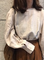 【ご予約】puff blouse(for mom)