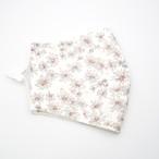 フラワープリント布製デザインマスク【日本製】