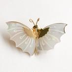 pearl butterfly brooch[b-241]