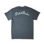 "Let it Ride Classics ""LIR-TEE"" DARK HEATHER"