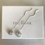 rain mini pierced earring(silver925)