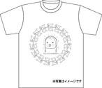 受注生産Tシャツ004 ホワイト×グレー