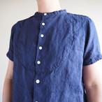40%OFF カラーリネン パジャマシャツ  92S29 サイズ2,3