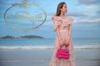 レディース ピンク ワンピース グアム ハワイ リゾート キレイめ バカンス 韓国 韓流デザイン