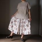 YAECA/ヤエカ ラップブラウス S/S OATMEAL #99119 レディース