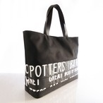 Tote Bag (L) / Black  TLB-0010