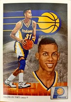 NBAカード 91-92UPPERDECK CHECKLIST #90 PACERS
