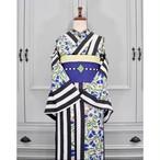 オリジナル着物 セオα *bell stripe*