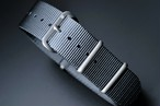 HOUSON CLASSIC NATO STRAP VINTAGE BLUE GREY 20mm