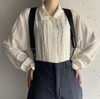 80's Vintage Lace Line Blouse