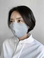 【グレー】和紙100%・国産洗えるマスク