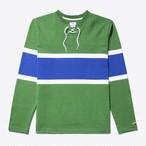 Lace-Up Hockey Jersey(Pine/White/Royal)
