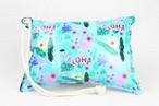 Pillow Bag (plumpillow purse)【Aloha Flamingo】まくら×ポーチ アウトドア