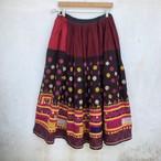 Vintage グジャラティ 刺繍スカート
