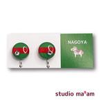 ■NAGOYA-20 イヤリング。まる。〜ピアス変更可〜