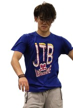 【JTB】COLORE LOGO Tシャツ【ブルー】【新作】イタリアンウェア【送料無料】《M&W》