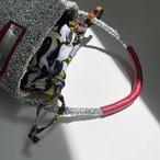 ✭限定即納✭ Shoulder Style Bag / パーニュ巾着付 / silver mix
