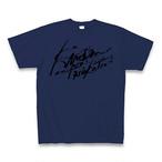 禁断の多数決オフィシャルTシャツ(第3期ロゴ×青)KDNT011