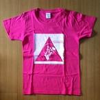 グランジ・ソウルTシャツ/サイズ:WM カラー:ホットピンク