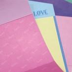 「LOVE」レターペーパーセット
