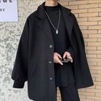 ビッグシルエット  セーター トレンチコート 冬物 韓国風
