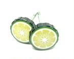 EAGLEmotorsサイドカバーノブ 左右セット( 柑橘類)