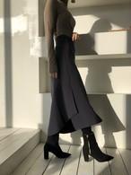 ロングスリットラップスカート スカート ロングスカート 韓国ファッション