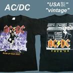 【シングルステッチ】AC/DC★バンドTシャツバンTビンテージB0121