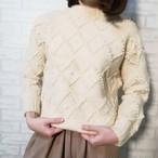 ○ vintage ponpon wool knit ○