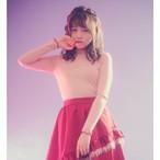 【Manon Mimie】ニットトップス-ピンク/ブラック-
