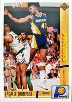 NBAカード 91-92UPPERDECK Lasalle Thompson #218 PACERS